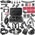 Sport cam accesorios kits para sony fdr-x1000v/w 4 k cámara de acción as200v as300v hdr-as15/as20/as30v/as100v/i