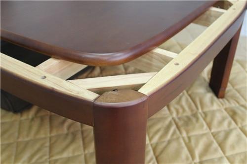online shop japanese kotatsu table rectangle 120cm round corner