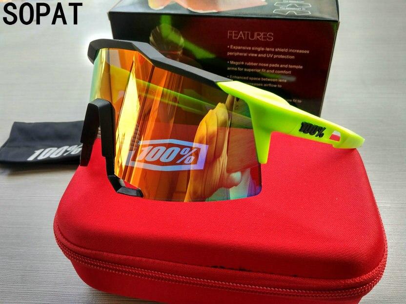 100% SpeedCraft Best Quality outdoor sports goggles sunglasses men jaw breaker radar ev oculos de grau speed crafts