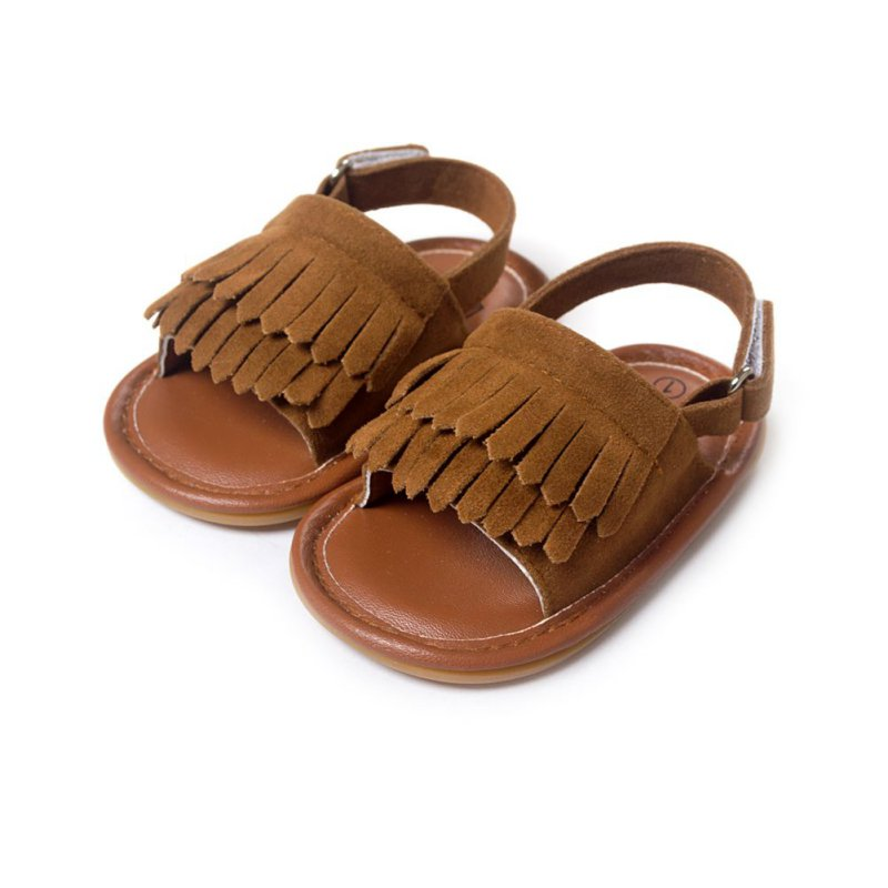Baby Moccasins Shoes Baby Summer Leisure Fashion Baby Girls of Children PU Tassel Shoes
