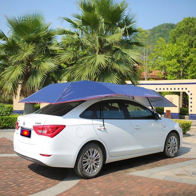 Wnnideo toit de la voiture tente auvent soleil abri for Auvent abri voiture