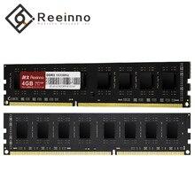 Reeinno оперативная память ddr3 4 ГБ/8 ГБ 1600 МГц двухканальная память для настольного компьютера 1,5 V NON-ECC 12800 МБ/с. 240pin пожизненная гарантия для Intel и AMD