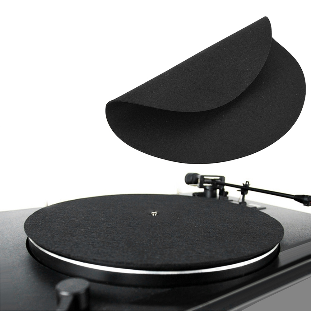 Bright Vbestlife 1pcs Ultra-thin Anti-static Lp Vinyl Turntable Record Pad For Phonographs Flat Soft Mat Record Slipmat Mat Pad 2018new