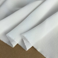 100% Pure White Silk Crepe De Chine Fabric Weight 12 to 40 Momme Choose Nature Silk Fabric Free Shipping