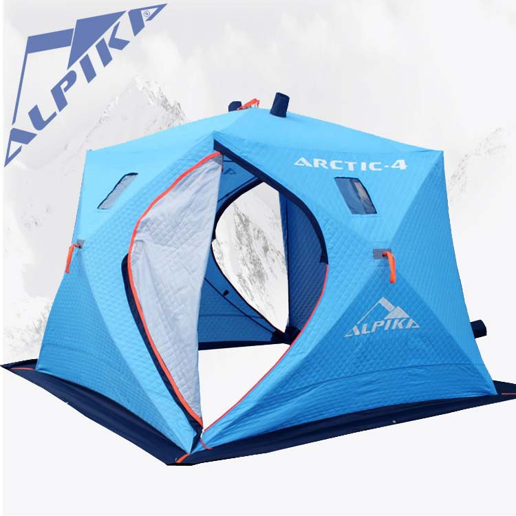 Latest 5 to 6 people three warm winter ice fishing ice for Ice fishing tents
