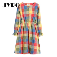 Jyro Brand Mori Women S Dresser Spring New Small Fresh Print Long Loose Large Size Long