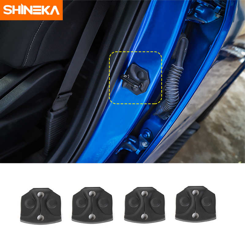 SHINEKA Car Styling Door lock Decoration Protection Buckle Cover Trim Sticker Fit for Ford F150 2015+ Car Accessories