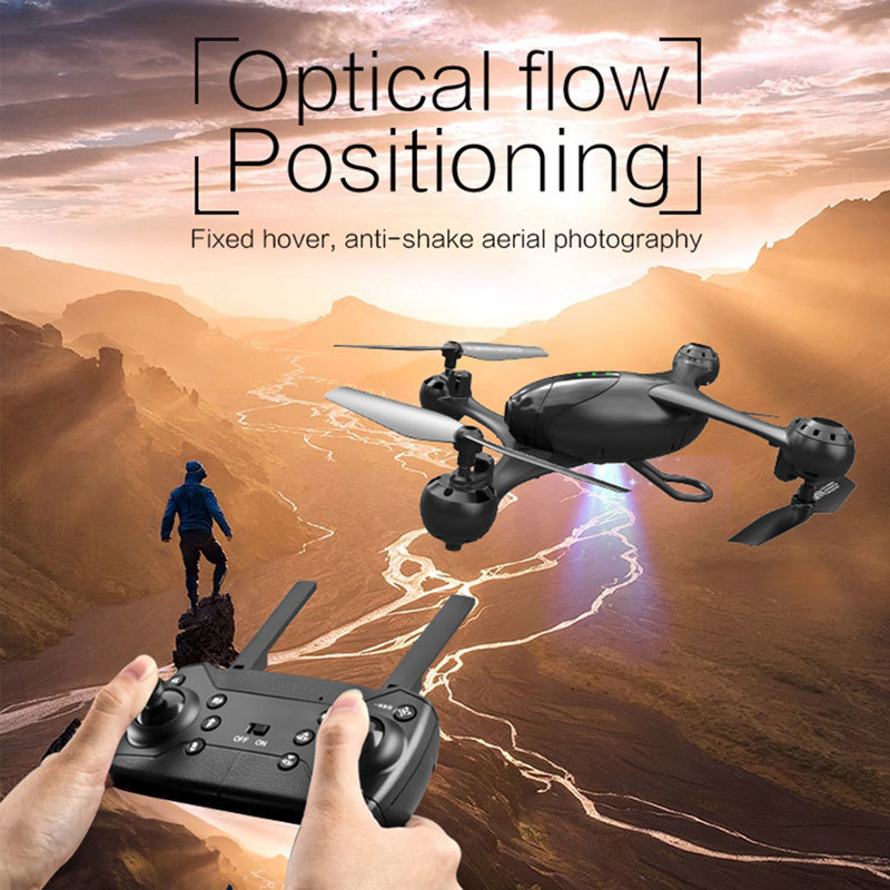Image 3 - LM06 KF600 Drone 1080P/4K Wifi FPV Dual Camera Optical Flow Positioning Gesture Control Altitude Hold Quadcopter Vs SG106 PM9-in RC Helicopters from Toys & Hobbies