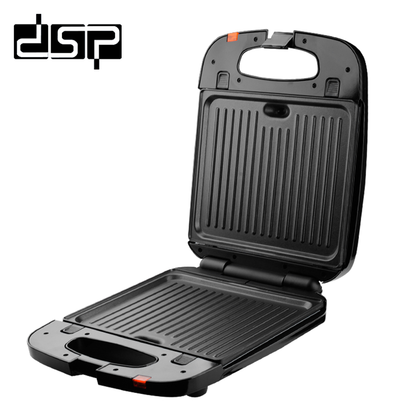 DSP Easy to Operate Multi-function Home Grill Electric Oven Smoke-free Roasted Non-stick Baking Pan Sandwich maker 220V 50HZ Гриль