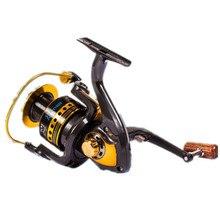 купить Fishing reel full metal fish wheel sea pole wheel  spinning reel distant fishing line wheel fishing gear carretilha carp outdoor недорого