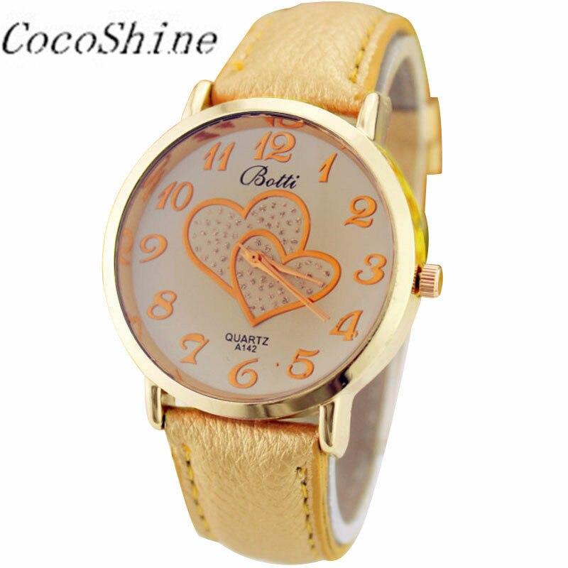 3d599324f549 Mujeres reloj momento reloj numerales Faux cuero banda analógica Relojes de  cuarzo regalos dropshipping  20