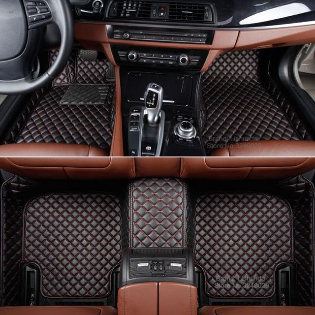 Custom Fit Car Floor Mat For Honda Pilot 3D All Weather Heavy Duty All  Cover High