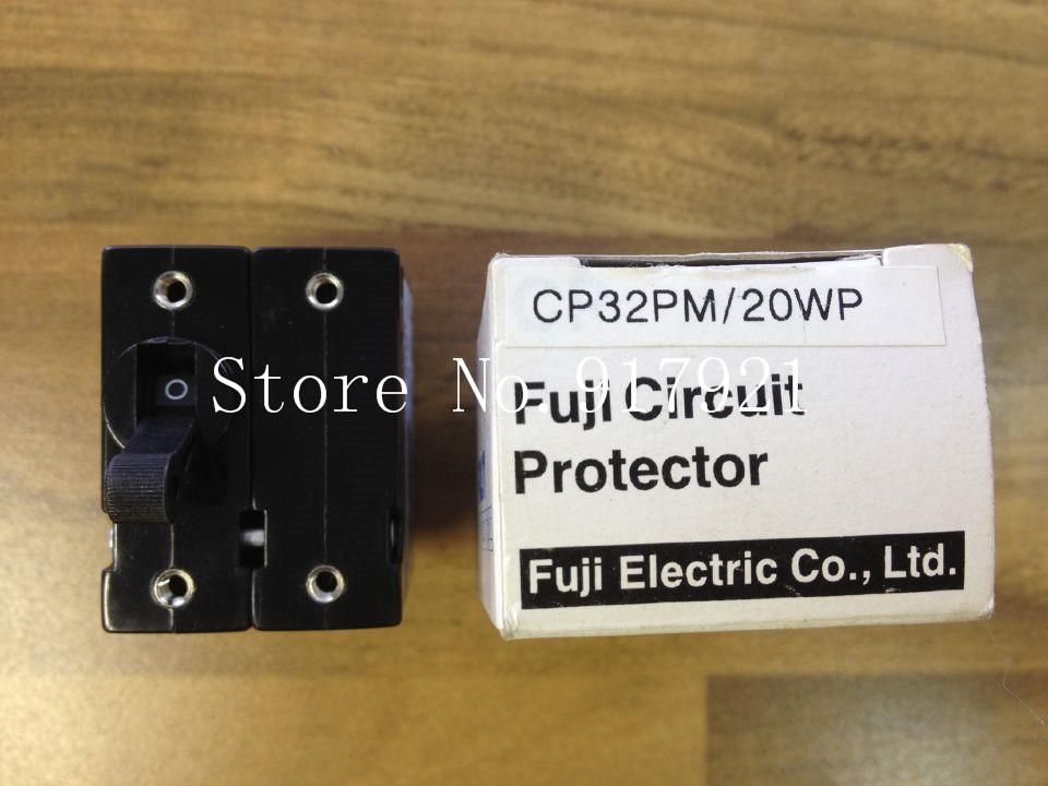 [ZOB] Fuji CP32PM/20WP Fe circuit breaker 2P20A genuine original equipment --5pcs/lot [zob] muller moeller eaton l7 16 2 d breaker 2p16a d16a genuine original 5pcs lot