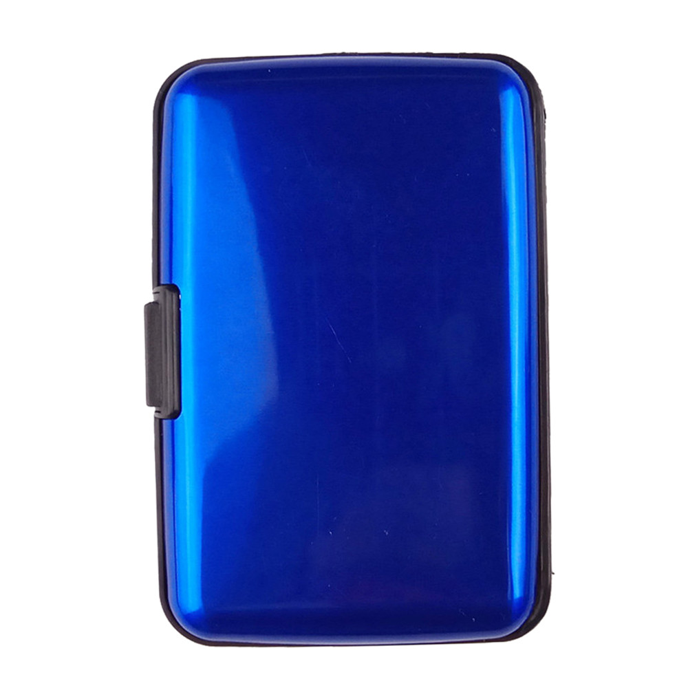 Mens Card Holder Mens Waterproof Business ID Credit Card Wallet Plastic Pocket Case Standard Wallets Drop Shipping 1.58