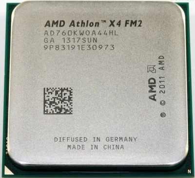 AMD Athlon X4 760K 760 K 3.8G 100W AD760KWOA44HL Socket FM2