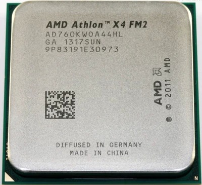 AMD X4 760K Quad-core CPU 3.8G FM2 Interface Does Not Lock The Official Version Of The Scattered Version Of Security One
