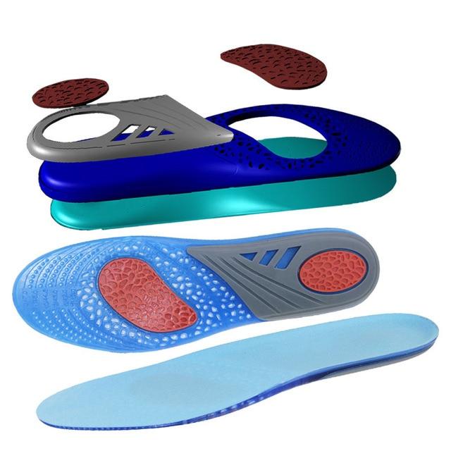 Unisex Tamanho Livre Palmilhas De Silicone Para Sapatos Palmilha Anti-Escorregadio Arch Suporta Pad Cuidados Com Os Pés Palmilhas de Gel de Alta Qualidade XD-018