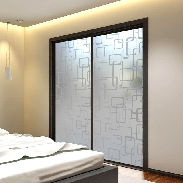 Etonnant 45/60*400cm Self Adhesive Frosted Glass Door Film Privacy Decoration Glass  Film