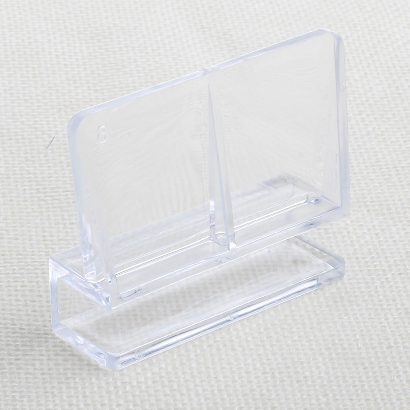 Aquarium Fish Tank Acrylic Clips Glass Cover Support Holders 6/8/10/12mm