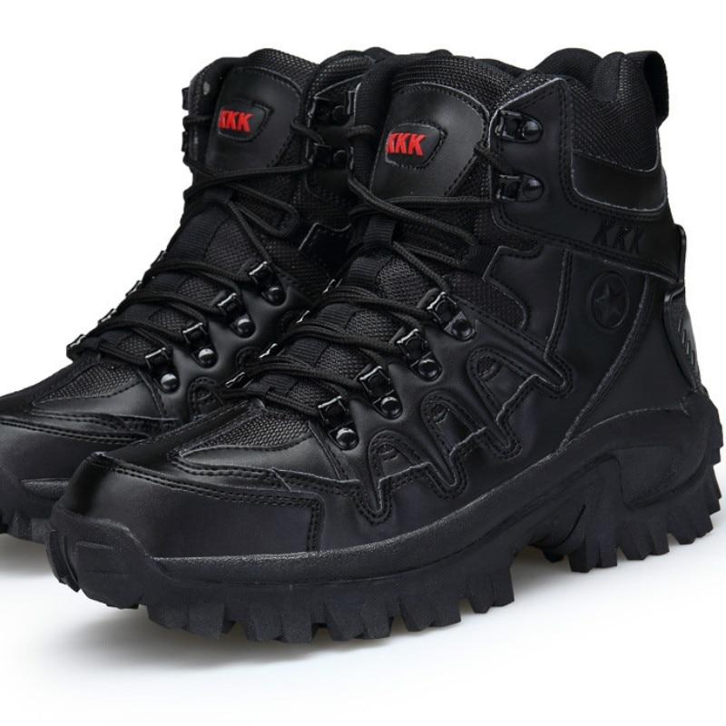 Bottes de randonnée en plein air antidérapant absorption des chocs formation chaussures pour hommes, alpinisme et baskets de cross-country challenge hommes