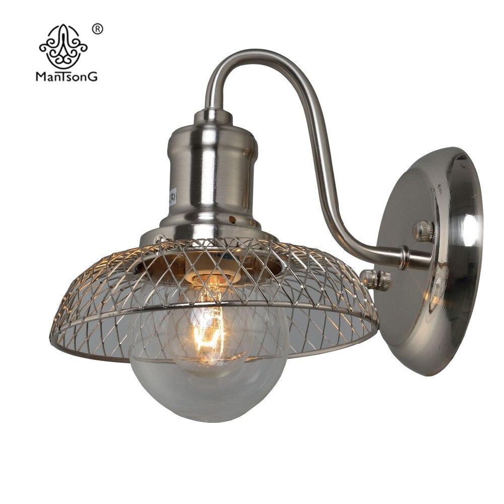 New Design Wall Lamp E14 Modern Wall Lights Vintage Corridor Home ...