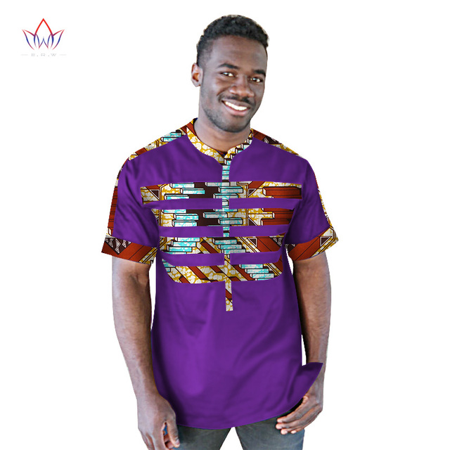 Plus Size New 2018 African Men shirt Traditional Print Cotton African  Clothing Dashiki Pachwork fabric Men Wedding Shirt WYN210 9beca18a7c0d