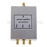 Nowy 3 Way SMA Splitter Zasilania 380 mhz ~ 2500 MHz, SMA żeński kabel zasilania rozdzielacza sygnału splitter kobieta przegroda Darmowa wysyłka