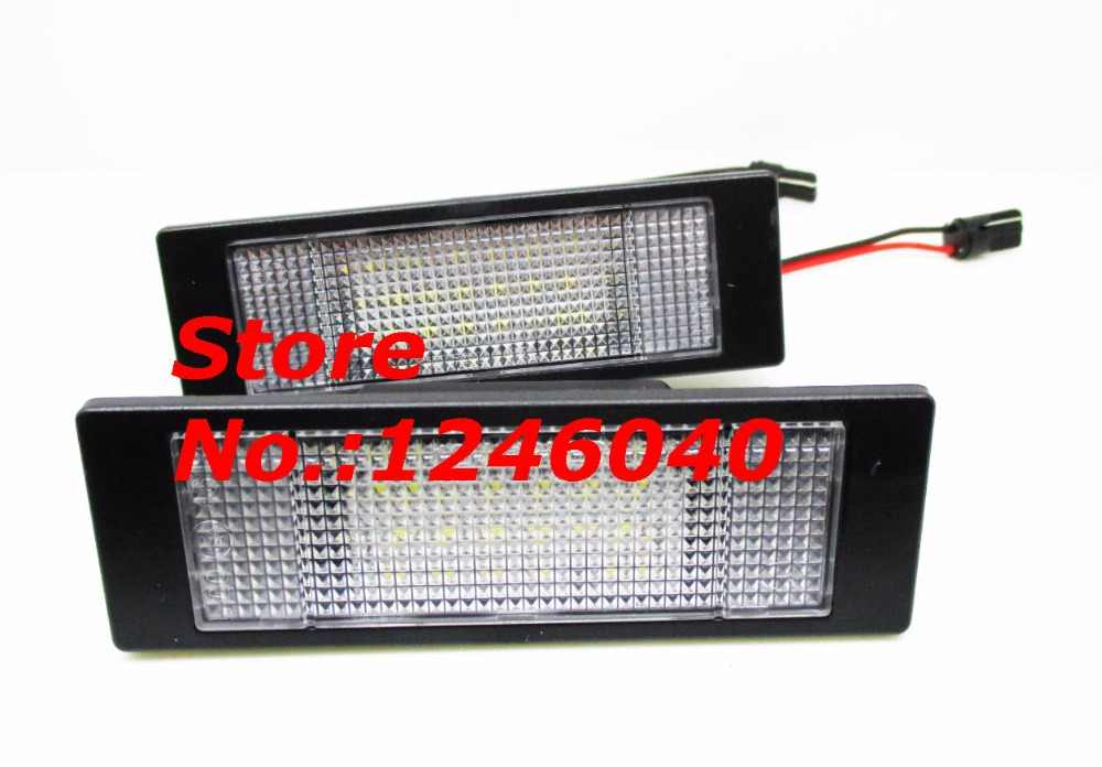 ... NEW style LED License plate Number plate light lamp for Fiat Multipla  98~Marea Benzina ... 00fa3aa3ece4