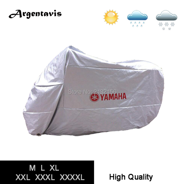 HOT SALE Silver Motorcycle covers fit for YAMAHA waterproof dustproof full protection