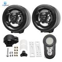 Mofaner 1 Set Waterproof Bluetooth Motorcycle Audio Radio Sound System Stereo Speakers MP3 USB Motor Anti