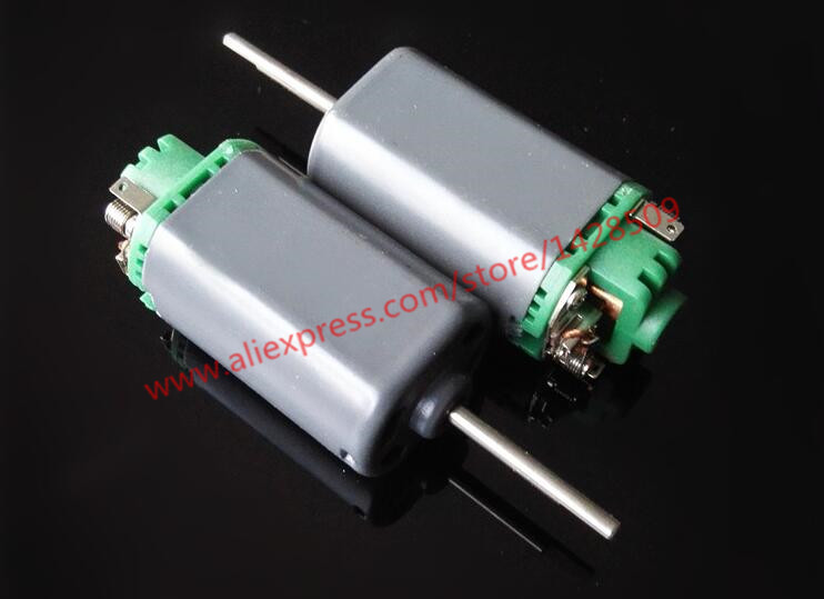 R480 Large torque Two Ball Bearing metal 7.2V Micro DC Motor mini for Technology Making micro electric drill