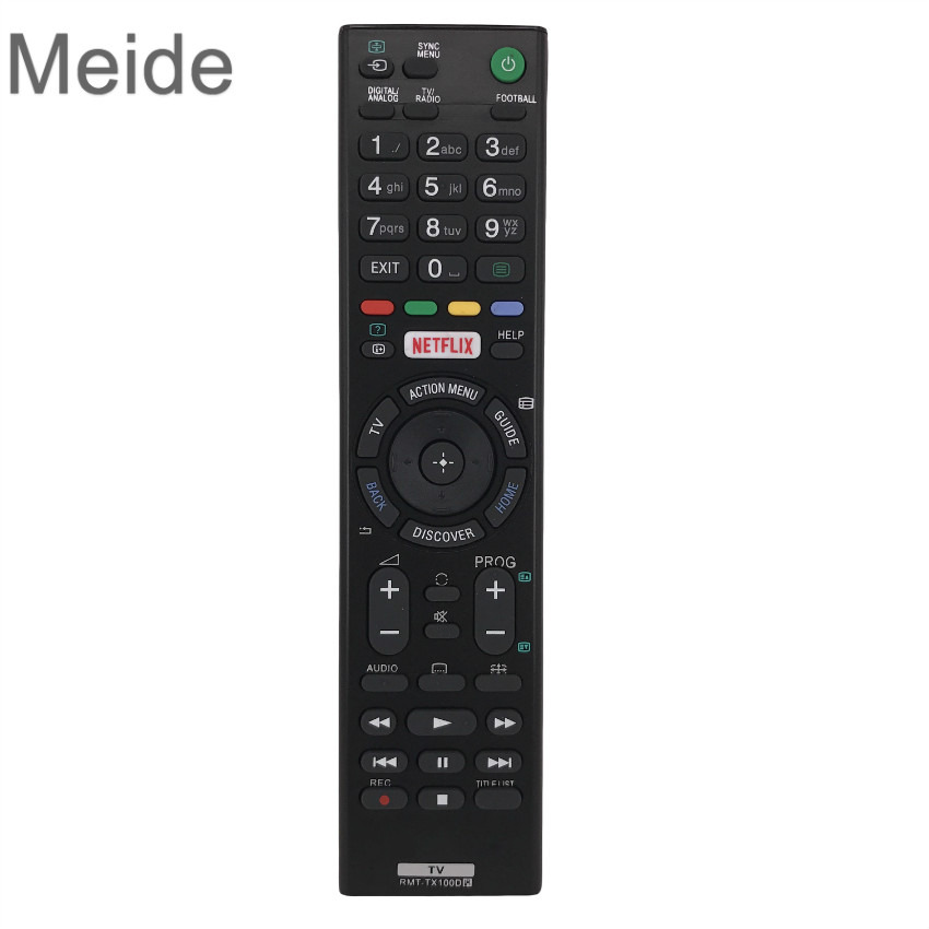 For Sony netflix TV Remote Control sony