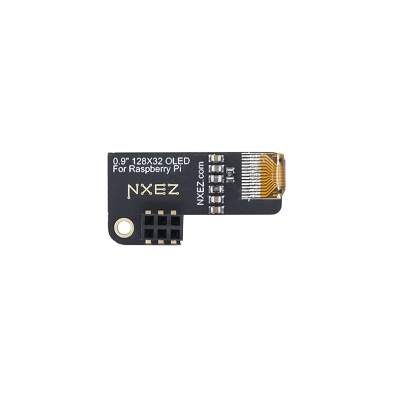 Image 4 - Mini 0.9 inch OLED Display 128x32 resolution For Raspberry Pi 2 3 B Zero-in Amplifier from Consumer Electronics