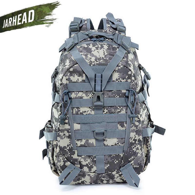Sac à dos réfléchissant tactique en plein air Molle Camouflage sac à dos militaire sac d'assaut randonnée Camping chasse sac de voyage