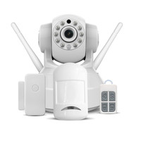 HD IP Camera Wifi Wireless Home Security Camera Surveillance Camera Two Way Audio Infrared Add Door