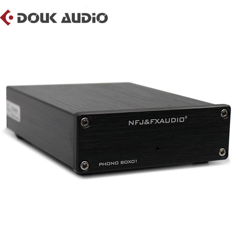Douk Audio NFJ&FXAUDIO Hi-Fi Mini MM Phono Stage LP Turntable Preamp Vinyl Record Player Cartridge Pre-AmplifierDouk Audio NFJ&FXAUDIO Hi-Fi Mini MM Phono Stage LP Turntable Preamp Vinyl Record Player Cartridge Pre-Amplifier