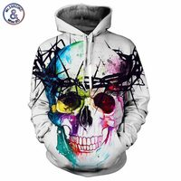 Mr 1991INC Hip Hop Hoodies Men Women 3d Sweatshirts Print Lion King Skulls Fashion Club Hooded
