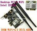 Wi Fi de Desktop WLAN Intel Centrino 2230 Mini PCI Express Bluetooth 4.0 2230 BNHMW IEEE 802.11n Wi Fi / Bluetooth Combo 300 Mbps