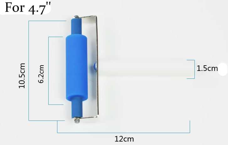 1セット3ピースocaフィルムラミネートシリコーンローラー用iphone 5 6 sプラス7 7 8 8 pプラスガラスでフレームタッチスクリーン修復ツール