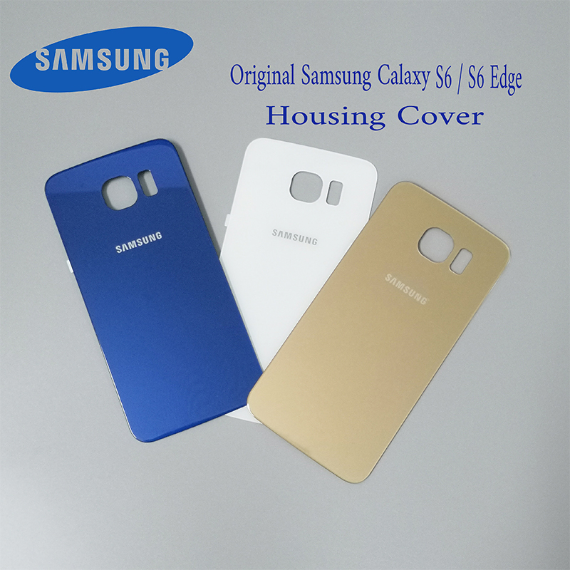 82758213ce4 Samsung Galaxy S6 S6edge Back 3D Glass Battery Cover For SAMSUNG GALAXY  G920F G925F