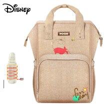 Get more info on the Disney Mummy Bag Multifunction Large Capacity Double Shoulder Travel Backpack Baby Handbag Bottle Bag Fashion Insulation Bags