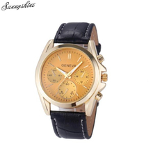 Style Ladies Enterprise Watches Crocodile Leather-based Analog Clock Quartz Unisex Wrist Watch wholesale z