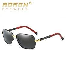 Aoron para hombre gafas de sol de diseñador de la marca de los hombres gafas de sol polarizadas polarizador gafas de sol de conducción espejo gafas de sol hombre