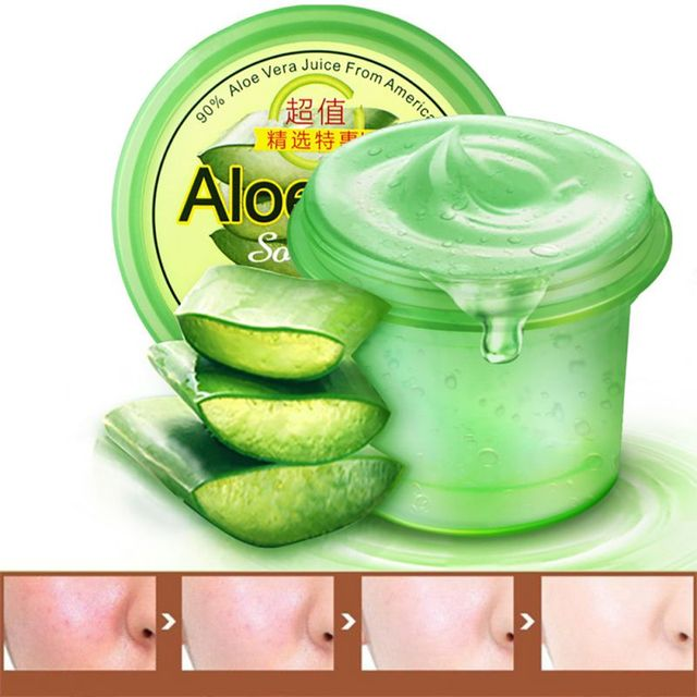 Gel perfecto de aloe vera a blain para imprimir blain scar cóncavo agujero acné crema 120g
