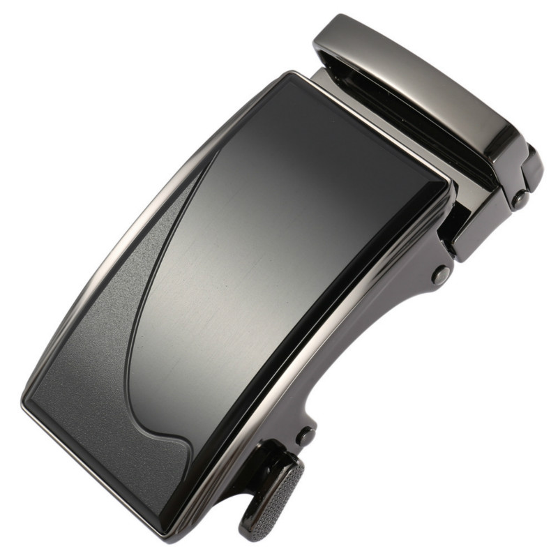 Men's Business Alloy Automatic Buckle Unique Men Plaque Belt Buckles 3.5cm Ratchet Men Apparel Accessories Designer LY136-22100