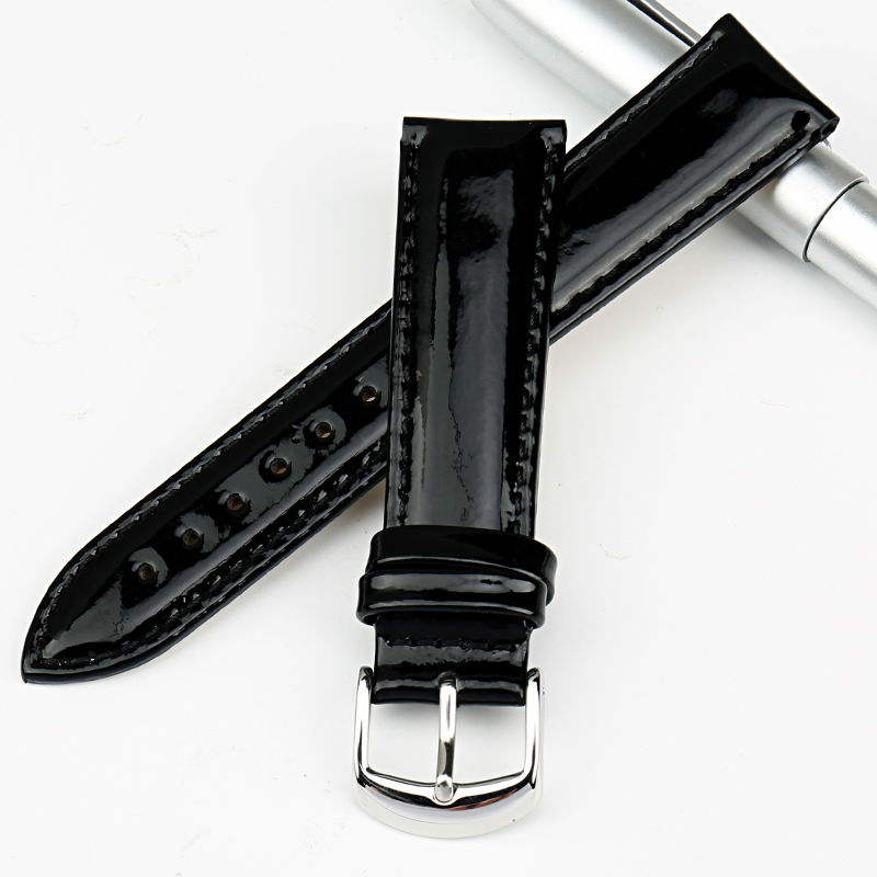 """""""MAIKES"""" tikros odos laikrodžių juosta, 12 mm, 14 mm, 16 mm, 18 - Laikrodžių priedai - Nuotrauka 3"""
