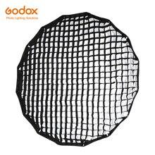 Godox przenośny P120L P120H 120cm siatka o strukturze plastra miodu 16 prętów głęboki paraboliczny Softbox
