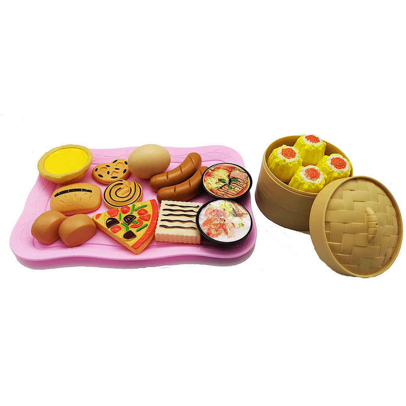 34 PCS เด็กของเล่นตัดผักผลไม้พลาสติกเครื่องดื่มอาหารชุด Pretend Play Early การศึกษาของเล่นสำหรับเด็ก