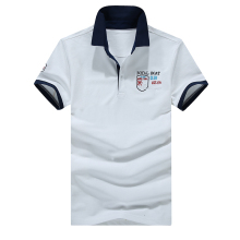 Men s summer short sleeved POLO shirt
