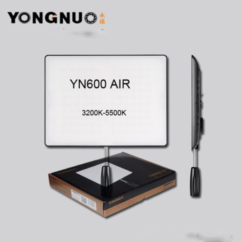 NEW YONGNUO <font><b>YN600</b></font> <font><b>Air</b></font> Led Video Light Panel 5500K and 3200K-5500K Bi-color Photography Studio Lighting image